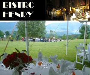 VT Weddings at bistrohenry